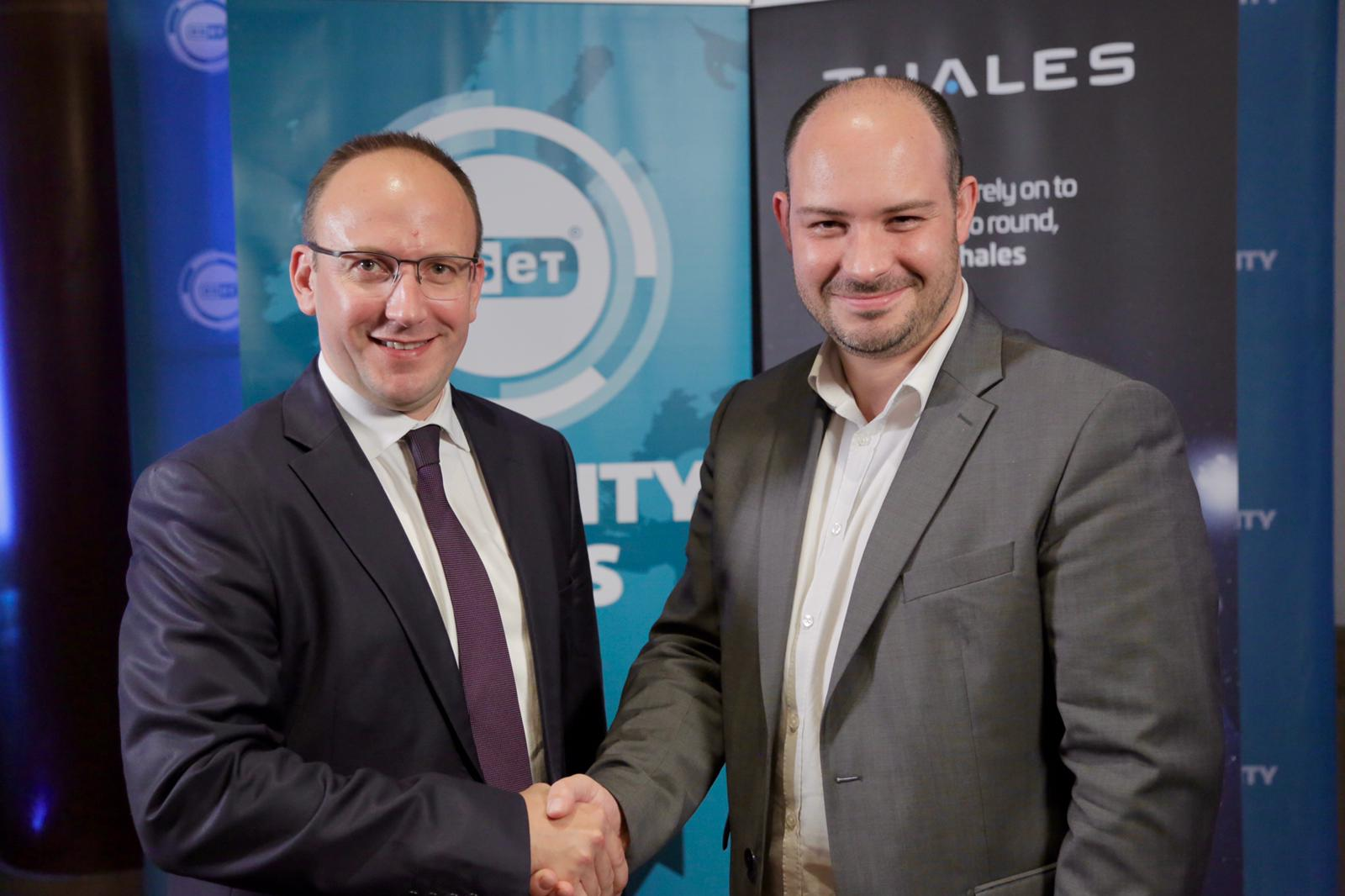 Thanks to ESET Thales reinforces its cyber threat