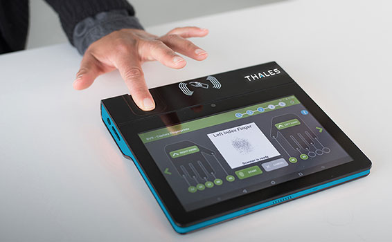 Tablette biométrique