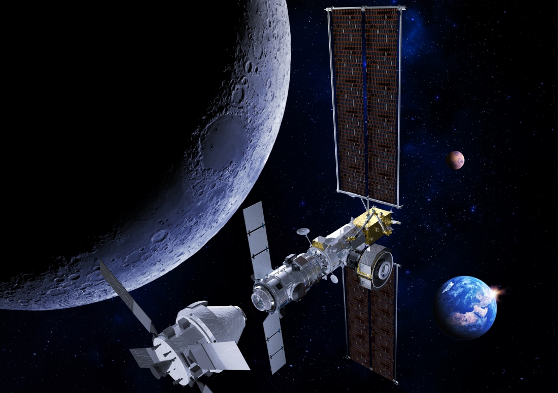 Thales Alenia Space on its way to reach the Moon