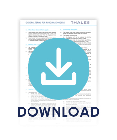 Download: General Terms for Purchase Orders