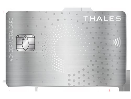 Veneer Metal Card