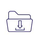 IoT Download Zip Icon