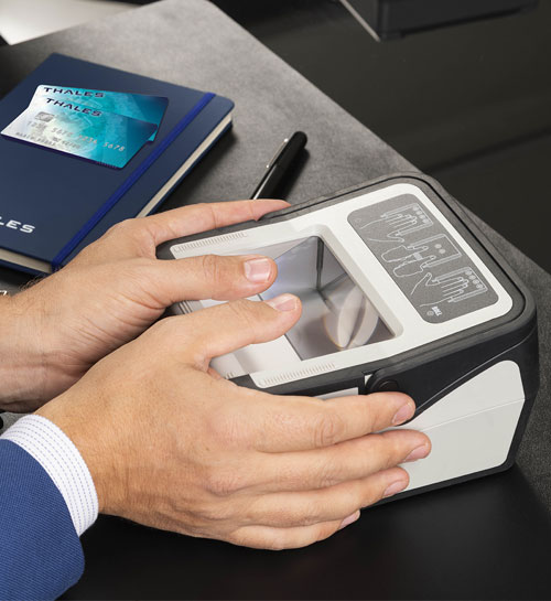 Cogent Multifinger Scanner CS500f