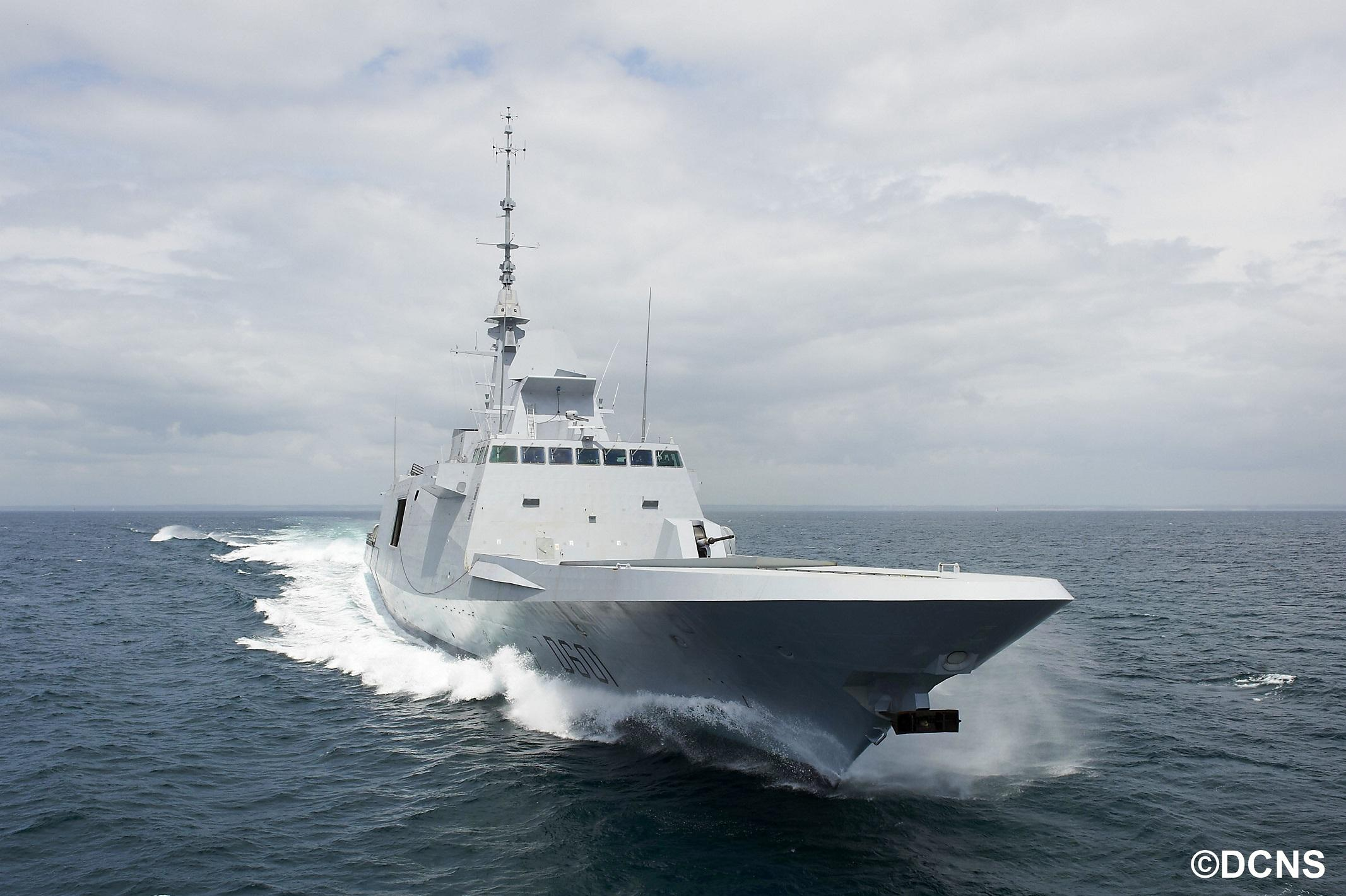 Thales equipped the FREMM frigate with communication systems and a sonar suite  - Thalesgroup