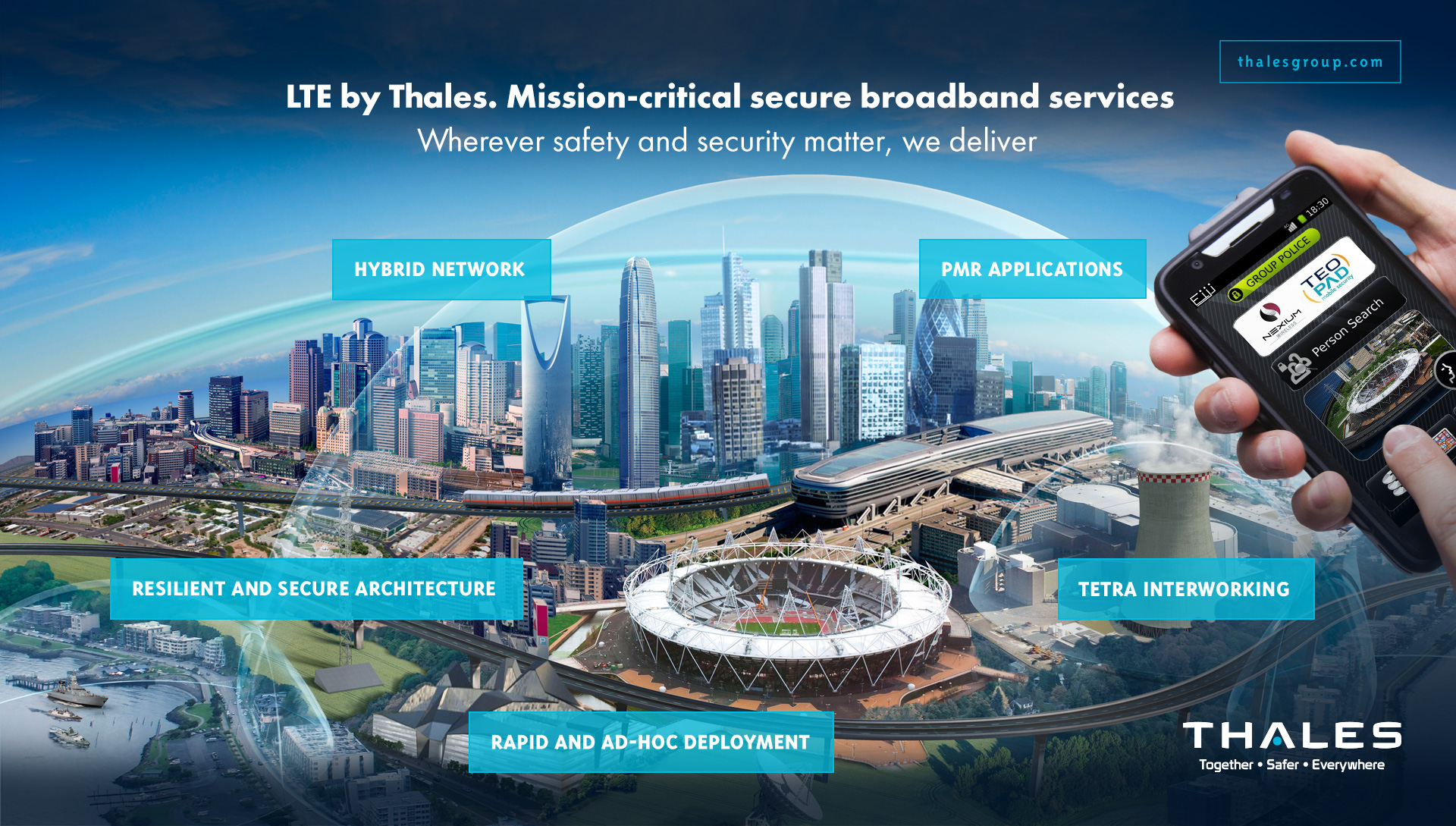 LTE by Thales - Thalesgroup