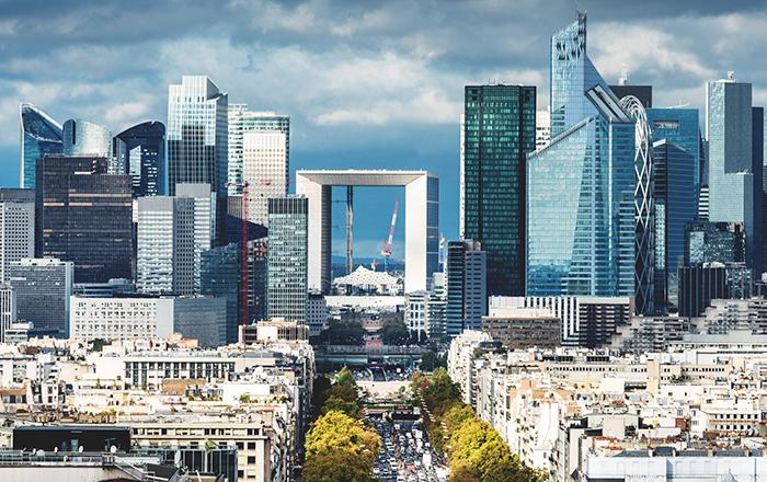 Europe-skyline-ladéfense - Thalesgroup