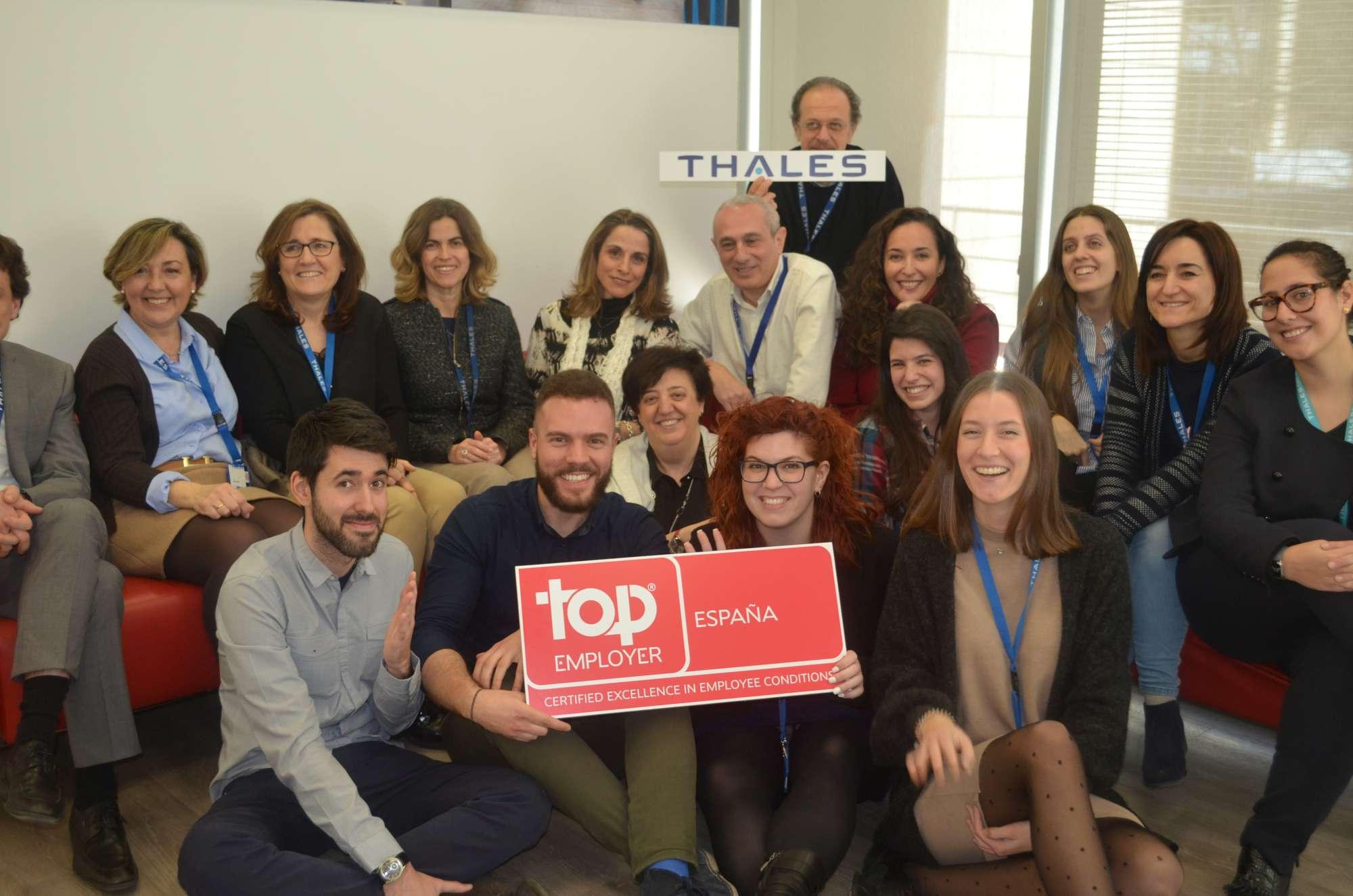Thales in Spain Top Employers - Thalesgroup