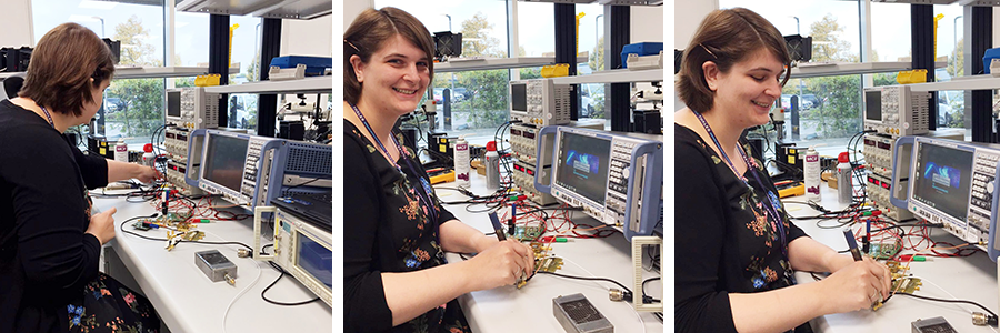 Emma has been working on radio communications systems for aircraft at Thales Research and Technology - Thalesgroup