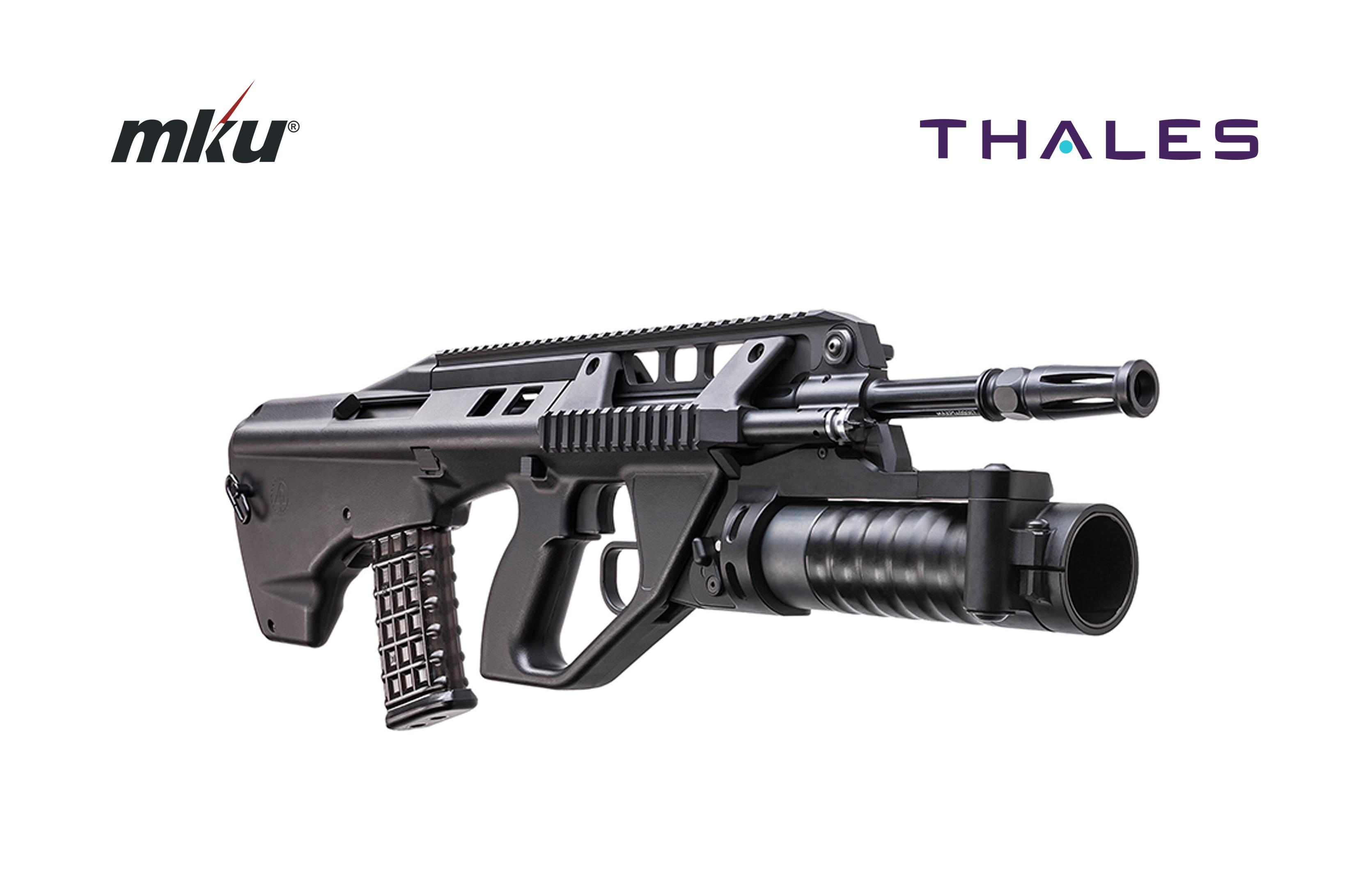 F90 Assult Rifle - MKU and Thales - Thalesgroup