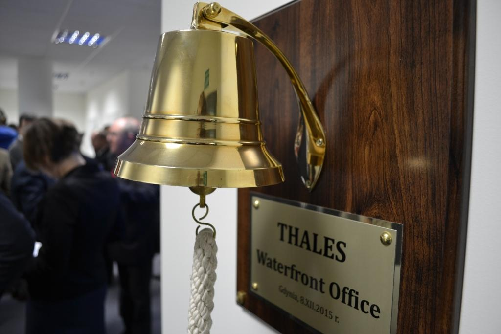 Inauguration of the new Thales' office in Gdynia, December 2015 - Thalesgroup