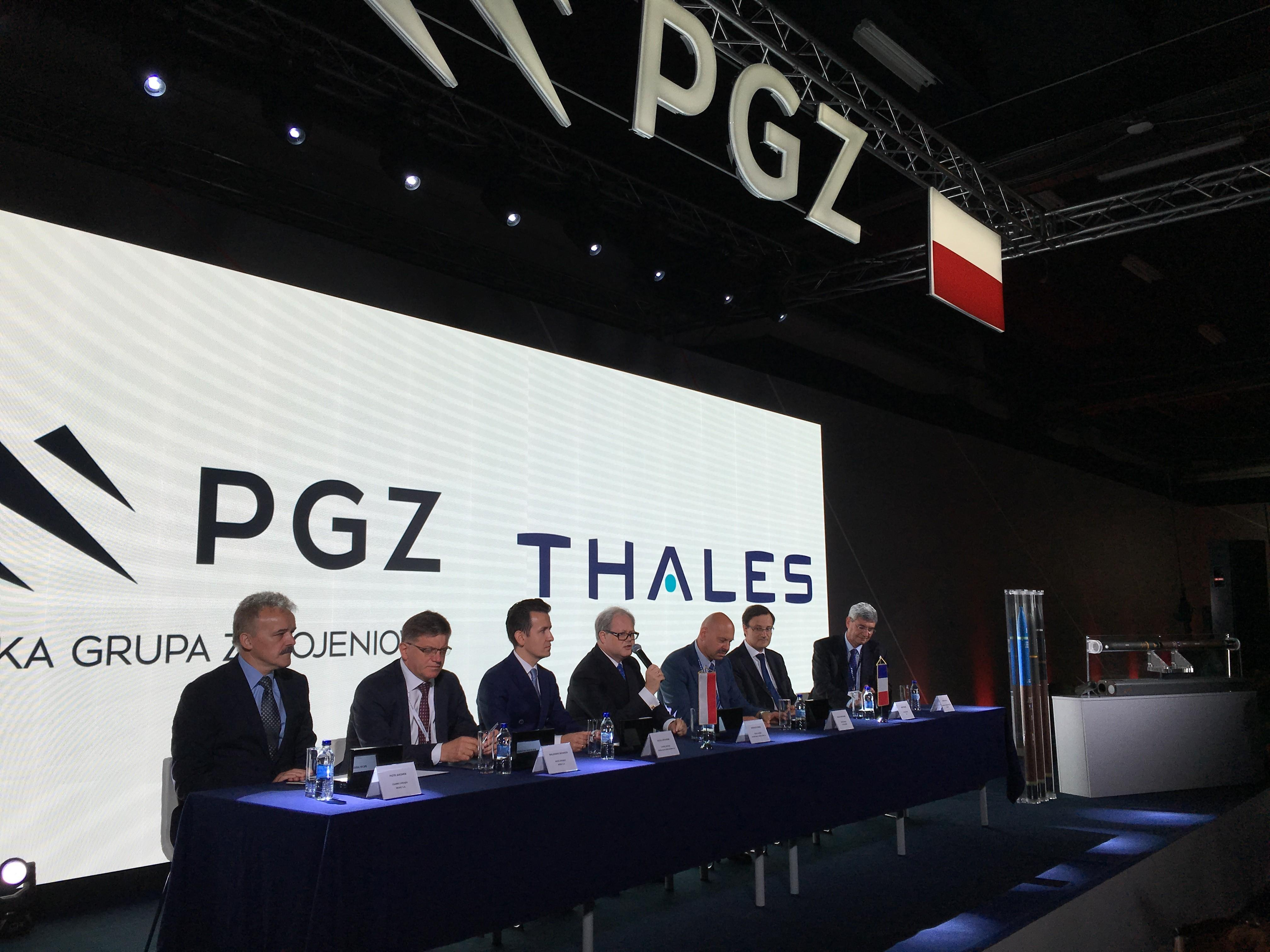 At MSPO 2016 PGZ and Thales announced induction rockets manufacturing partnership  - Thalesgroup