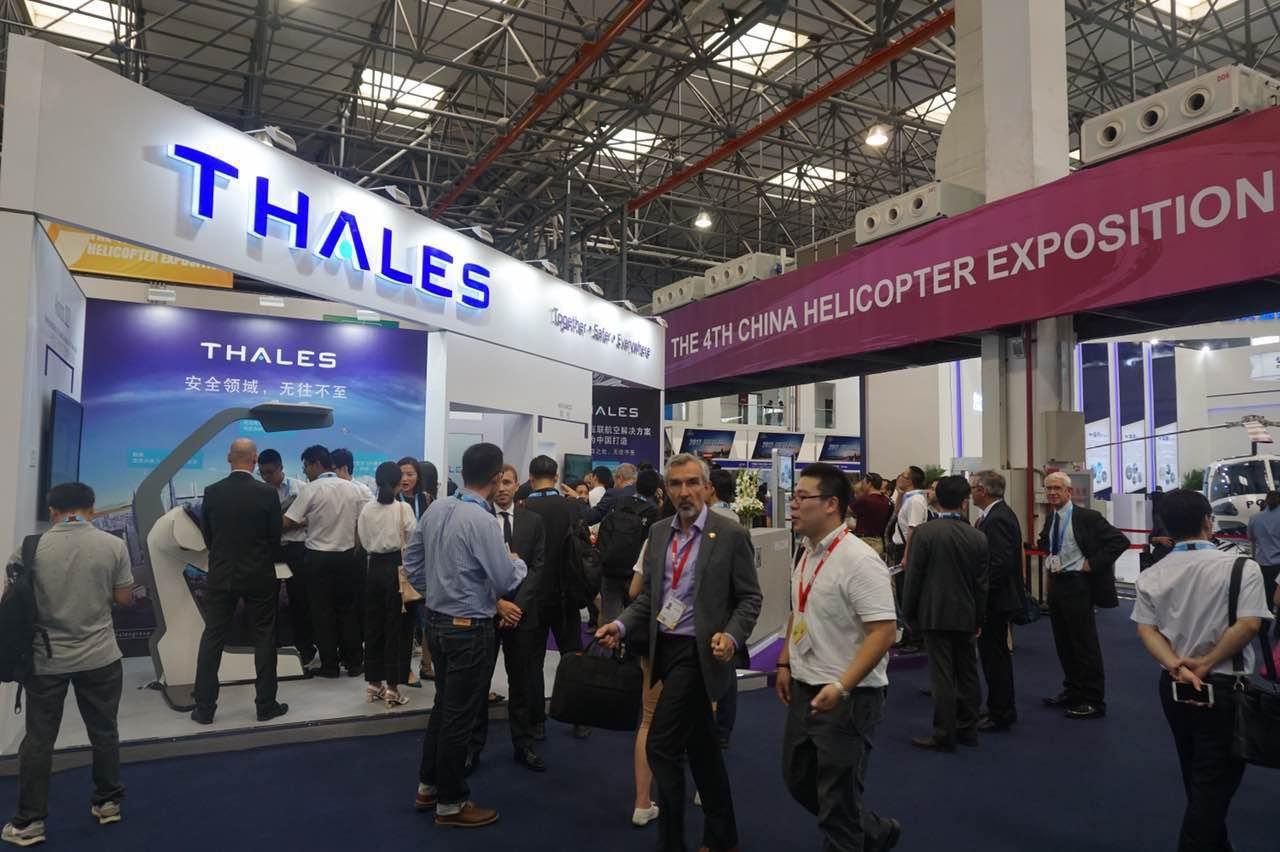 Thales at the 4th China Helicopter Expo in Tianjin - Thalesgroup