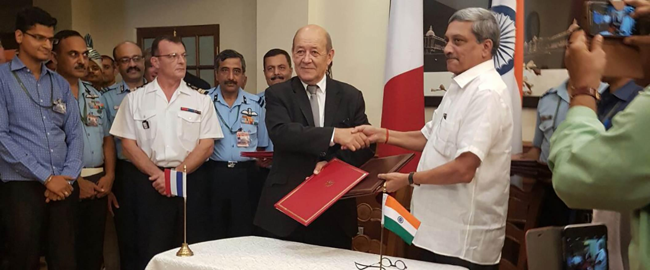 The official signing ceremony for the acquisition of 36 Rafale aircraft was held in New Delhi, India - Thalesgroup