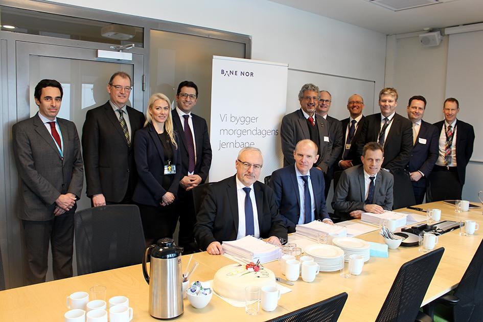Thales and Bane NOR signing TMS contract March 2018 - Thalesgroup