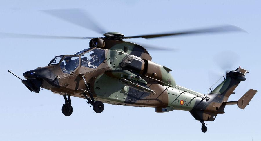 TIGER helicopter_Spanish Army Aviation_©FAMET - Thalesgroup