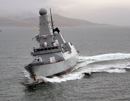 Type 45 Destroyer - Thalesgroup