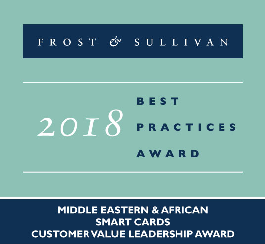 Frost & Sullivan's 2018 Customer Value Leadership Award in Middle East and Africa for PURE