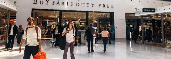 Duty free shops in Roissy