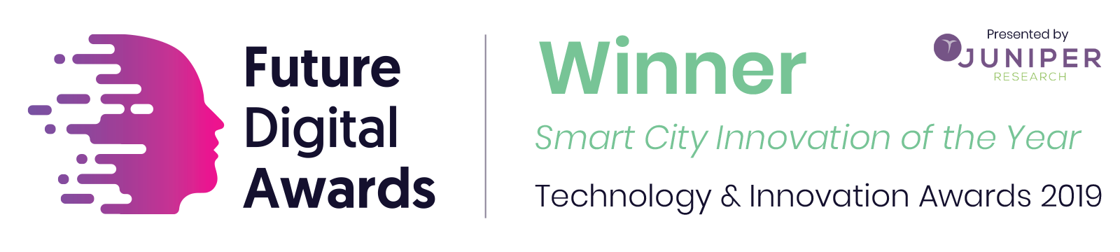 Gemalto-Instant Connect-Smart City Innovation of the Year-Award 2019 Badge