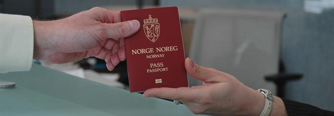 Norvegian electronic passport