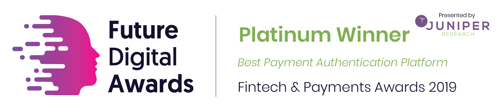 Gemalto Earns the Best Payment Authentication Platform/Solution Award by Juniper Research​​