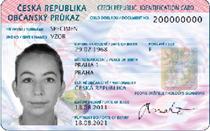 Czech Republic National Id Card