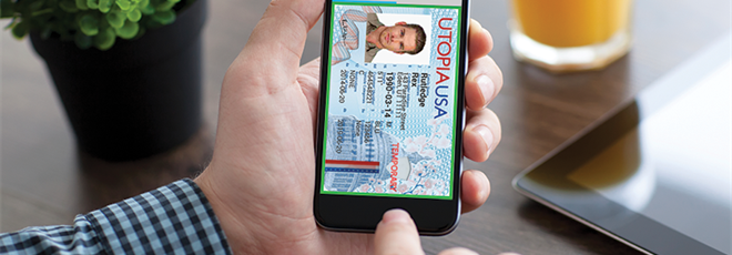 Digital driver's license (DDL)