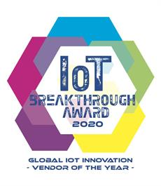 "Thales named ""Global IoT Innovation Vendor of the Year"" in 2020"