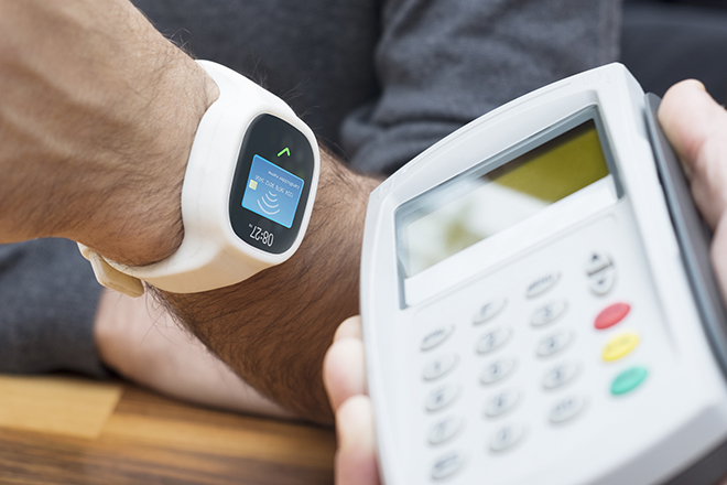 mobile payments with Wearables