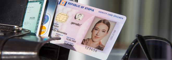 Secure national ID cards