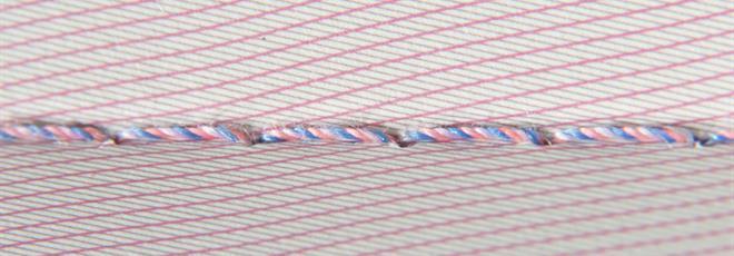 Stitching - passport papers