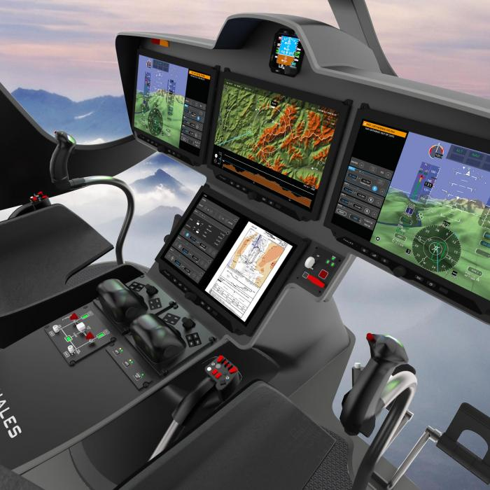Flytx Thales connected cockpit