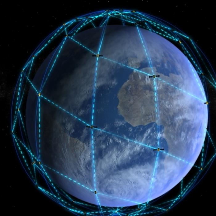 Constellation Iridium NEXT - Thalesgroup