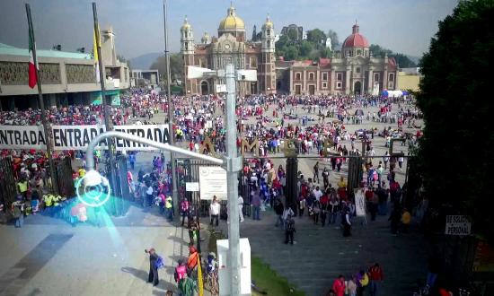 Gestion des grands événements : le pèlerinage de Guadalupe - Thales Group