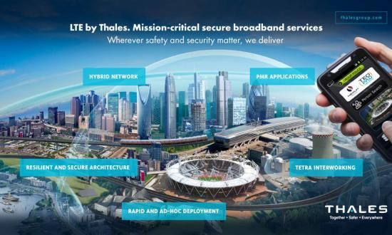 New broadband LTE - Thales Group