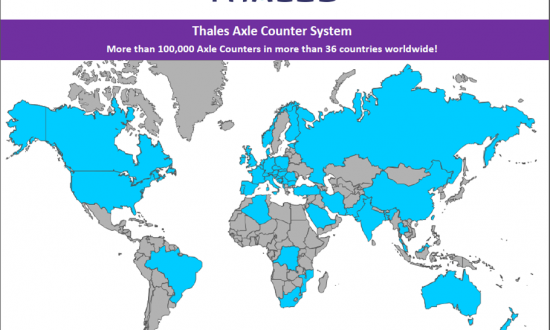 Axle Counter Worldwide References  - Thales Group
