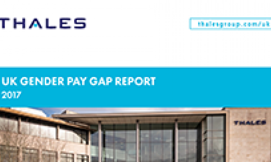 Thales in the UK Gender Pay Gap Report 2017